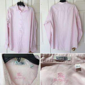 Burberrys shirt long sleeves Sz 16 1/2-35 pink
